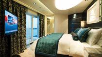 The Haven deluxe owner's suite con balcón grande