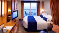 Cabina Superior Exterior con Balcón y Vistas al Mar
