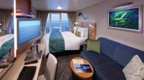 Camarote Superior con Balcón y Vistas al Mar