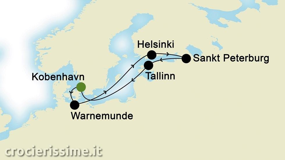CAPITALI BALTICHE da Copenhagen