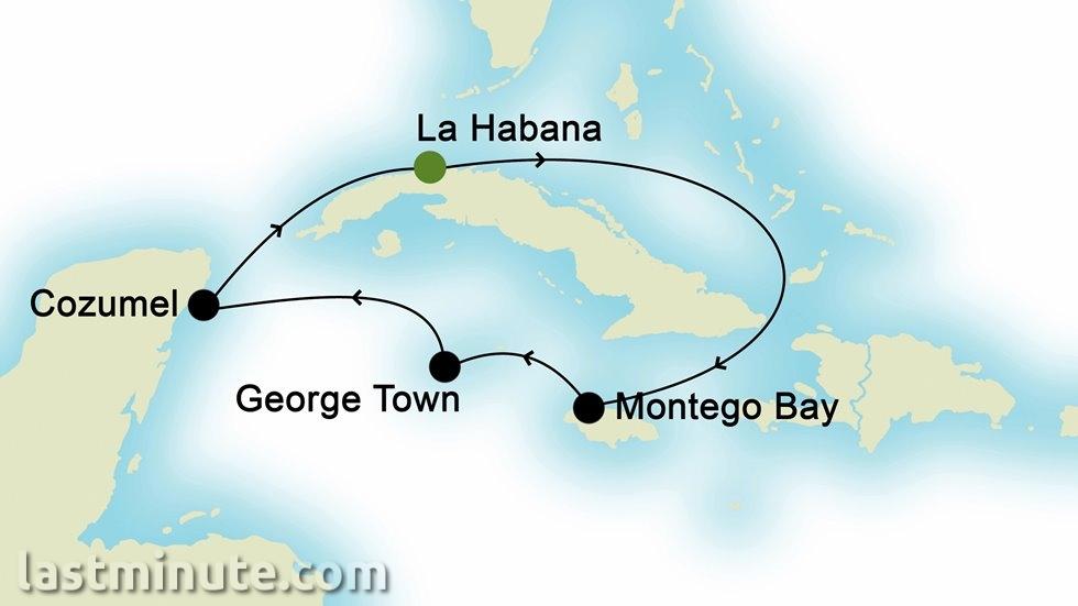 CARAÏBES au départ de La Havane