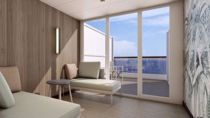 Cabine Terrasse avec vue mer
