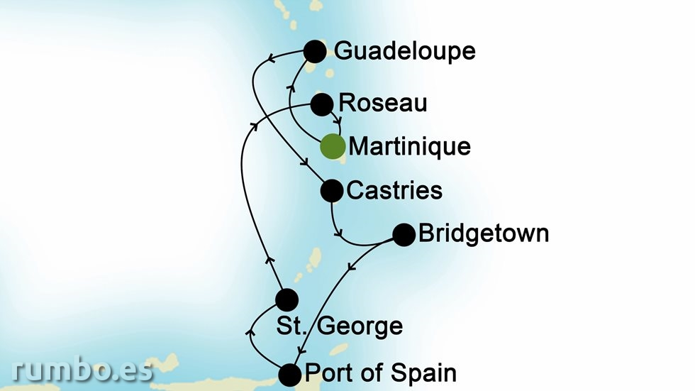 CARIBE desde Fort-de-France