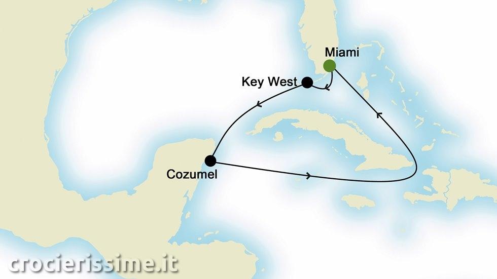 ISOLE CARAIBICHE da Miami